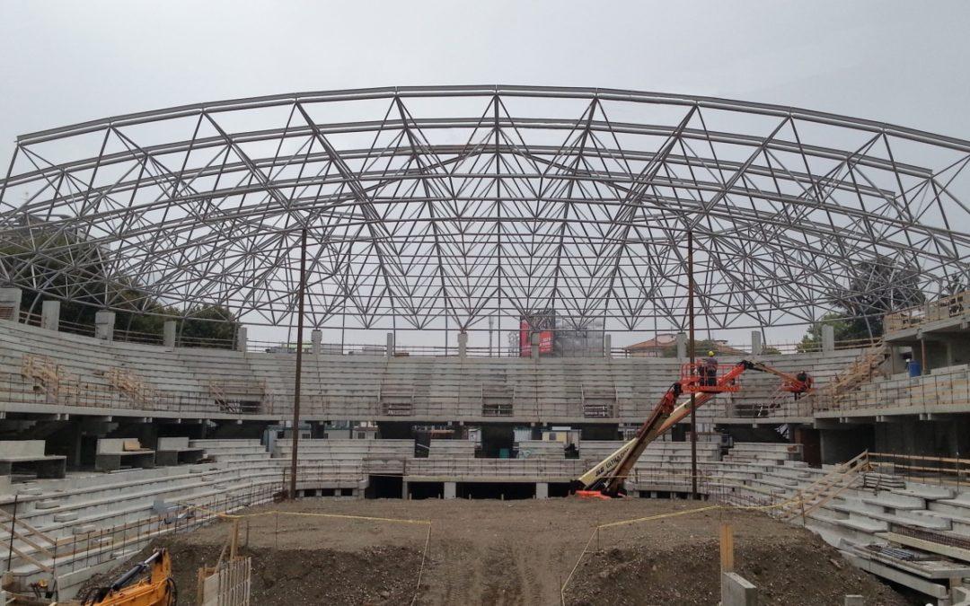 Пала Армани — крыша стадиона