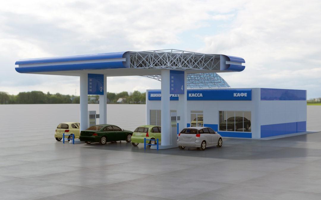 Проект автозаправочнойстанции с минимаркетом